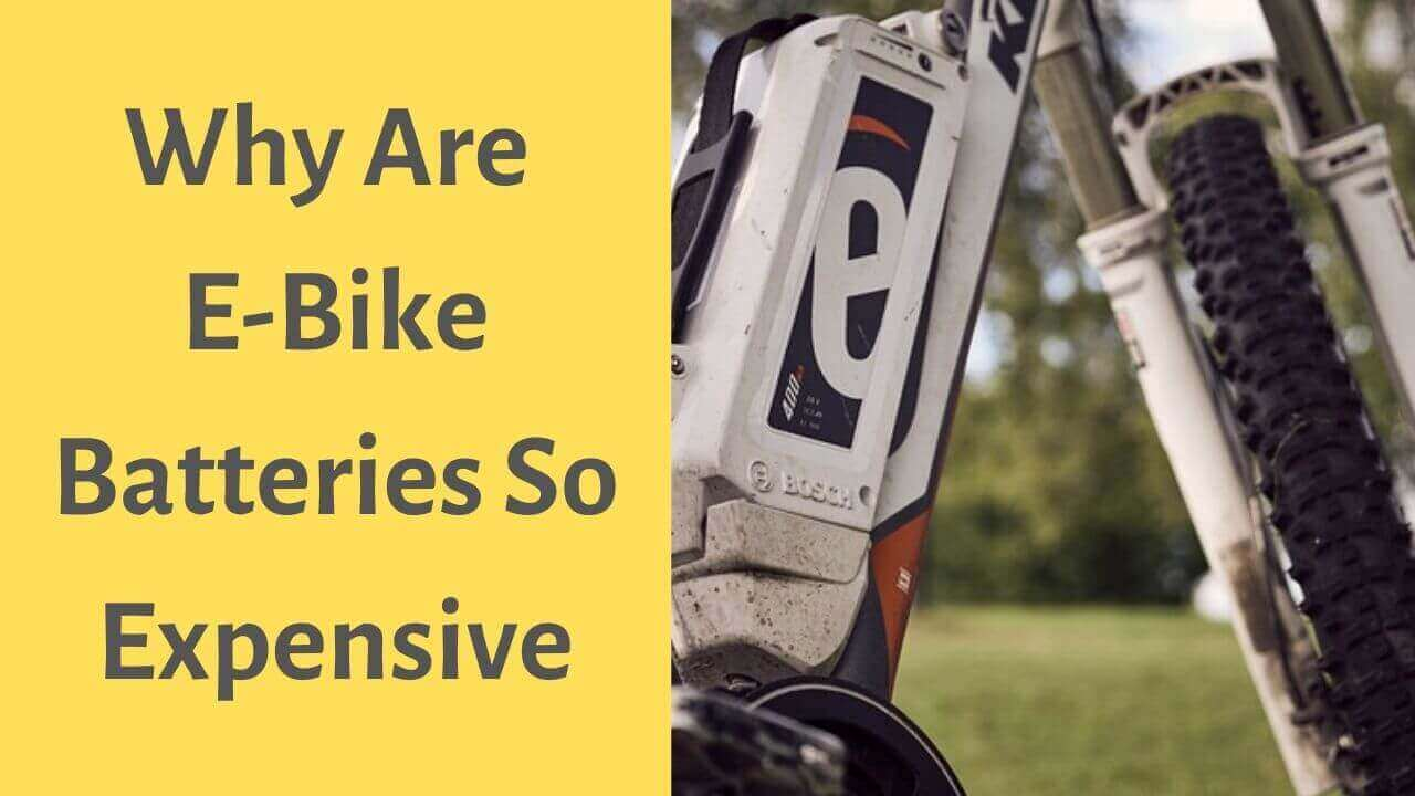 Why Are E-Bike Batteries So Expensive