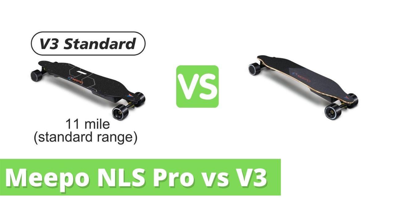 Meepo NLS Pro vs V3