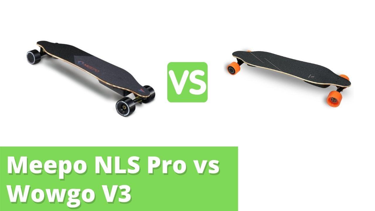 Meepo NLS Pro vs Wowgo V3